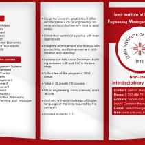 IYTE Broşür Tasarımı